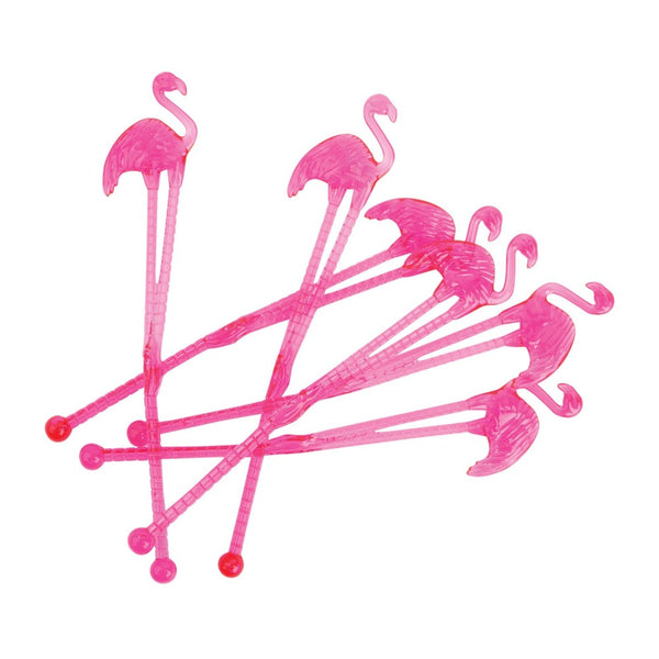 Flamingo Cocktail Stirrers - Oxley and Moss