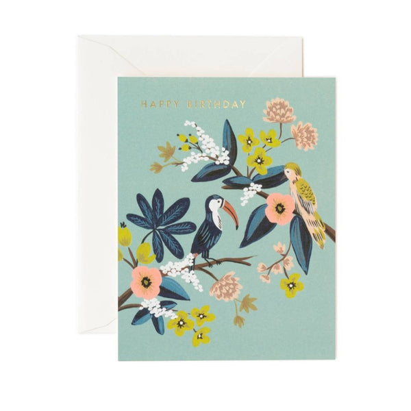 Greeting Card - Toucan Birthday - Oxley and Moss