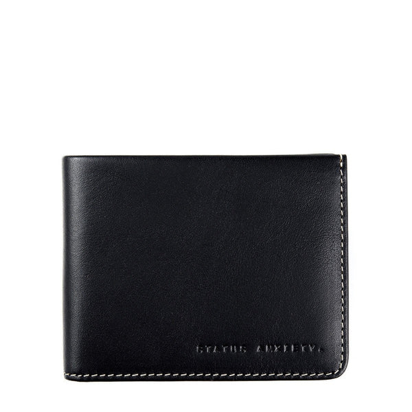 Alfred Wallet - Black - Oxley and Moss
