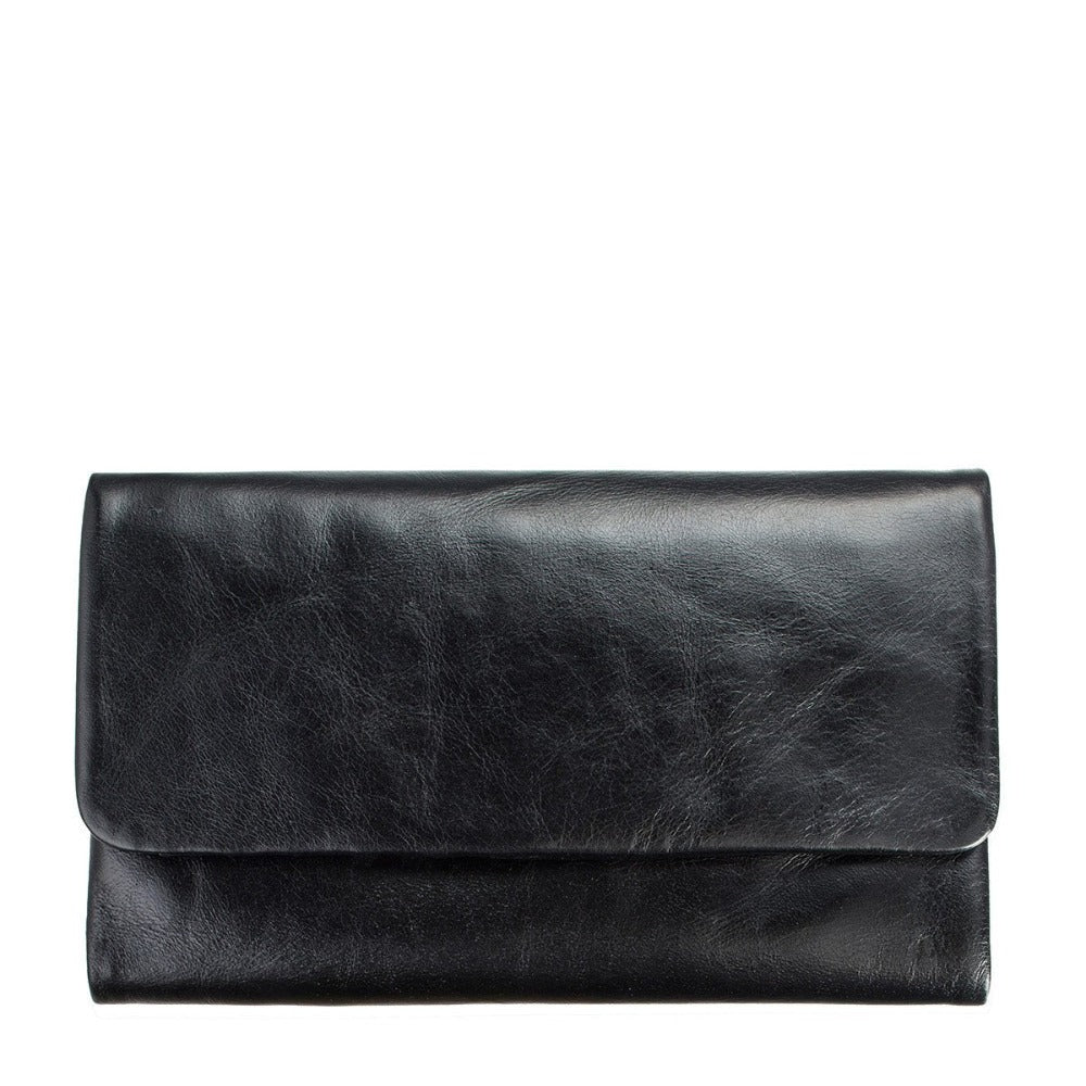 Audrey Wallet - Black - Oxley and Moss