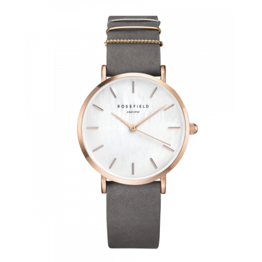 The West Village Watch - Pink/Rosegold - Oxley and Moss