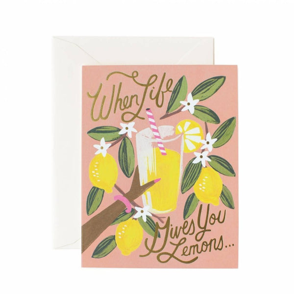 Greeting Card - When Life Gives You Lemons - Oxley and Moss
