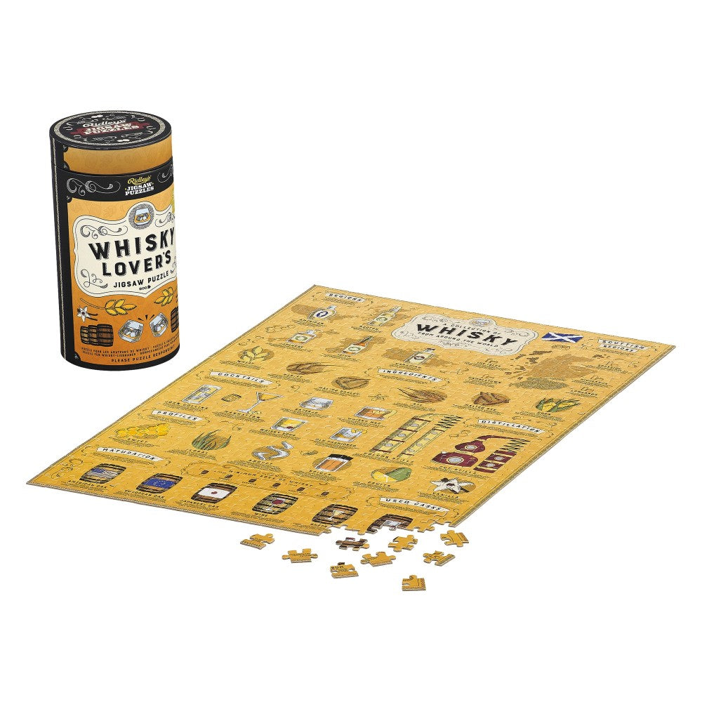 Whiskey Lovers Jigsaw Puzzle