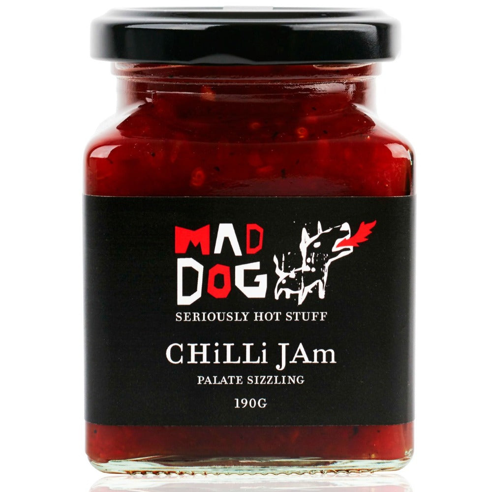 Mad Dog Chilli Jam - Oxley and Moss