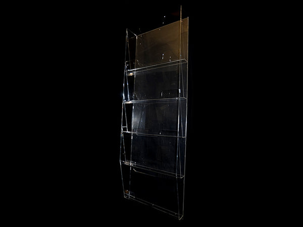 Acrylic Newspaper Rack