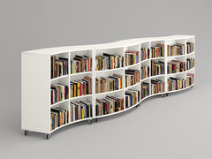 Arc Curved Shelving 3 Tier