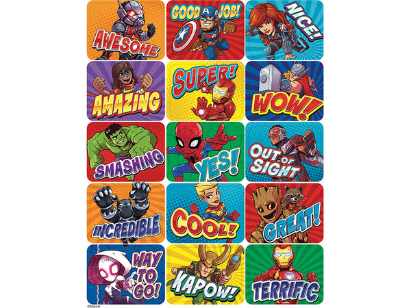 Marvel Superhero Adventure Success Stickers