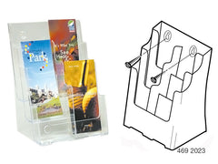 DLE Multi-Pocket Brochure Holders