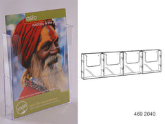 Single Pocket Brochure Holders - Wall Mounted (Portrait)