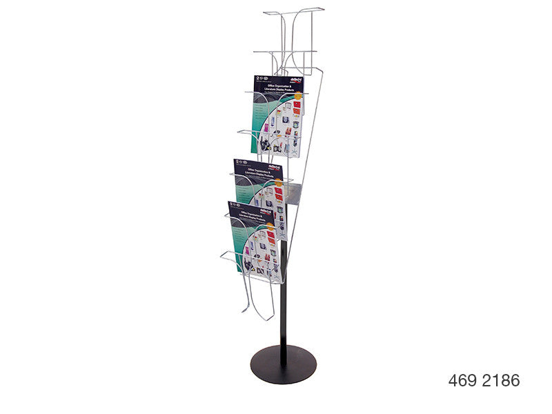 Fixed Floor Stand Wire Display