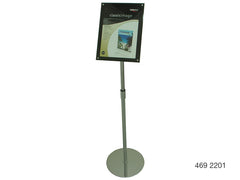 Acrylic Sign Holder Floor Stand