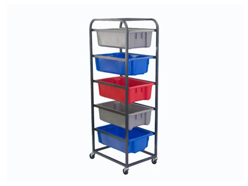 Five Tier Trolley for Plastic Crates