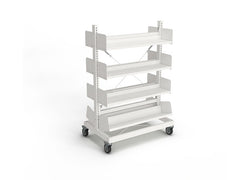 Intraspec Mobile Shelving 1260mm Fiction