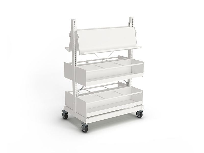 Intraspec Mobile Shelving 1260mm Graphic Novel / Picture Book