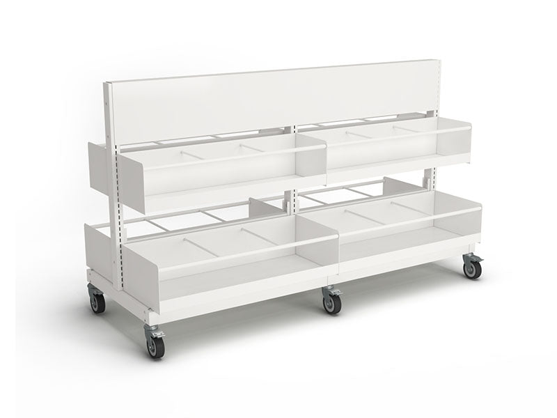 Intraspec Double Mobile Shelving 900mm Picture Book