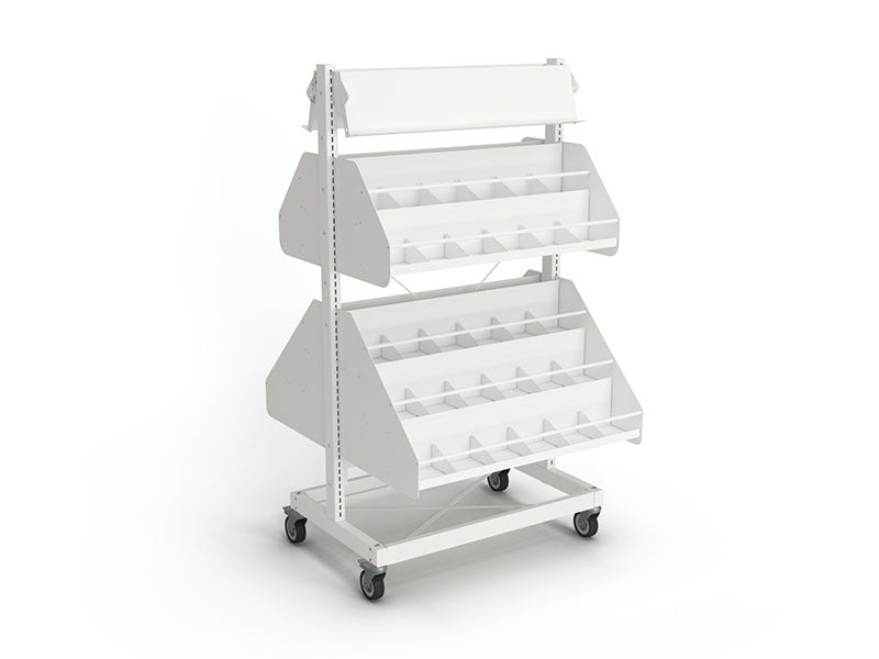 Intraspec Mobile Shelving 1560mm DVD