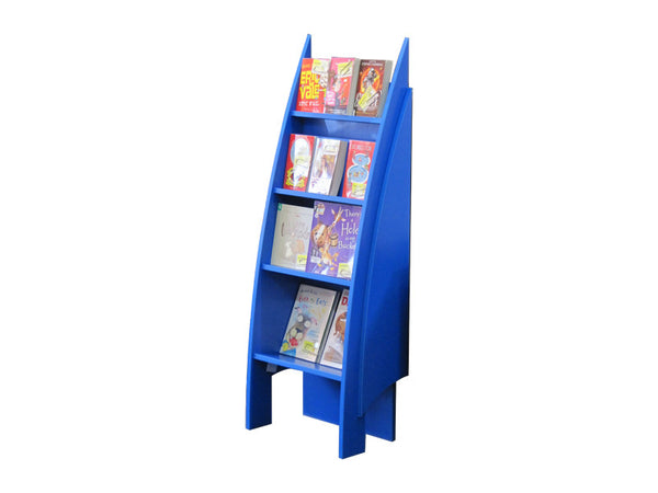 Akaroa Children's Single Sided Book Display - 4 Tier