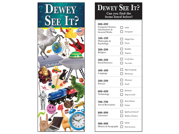 Dewey® See It Jumbo 2-Sided Bookmark