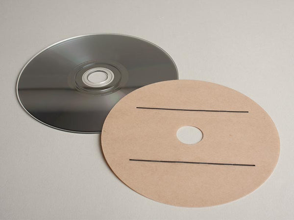 EM CD/DVD Security Strip Overlays