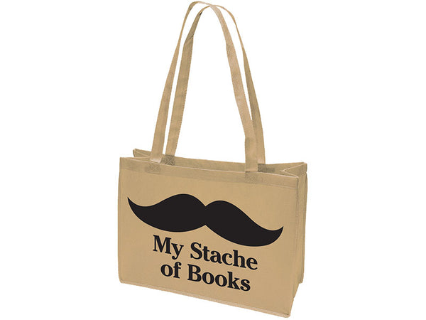 My Stache of Books Browsing Bag