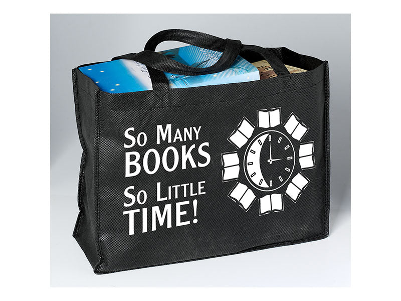 So Many Books So Little Time Browsing Bag