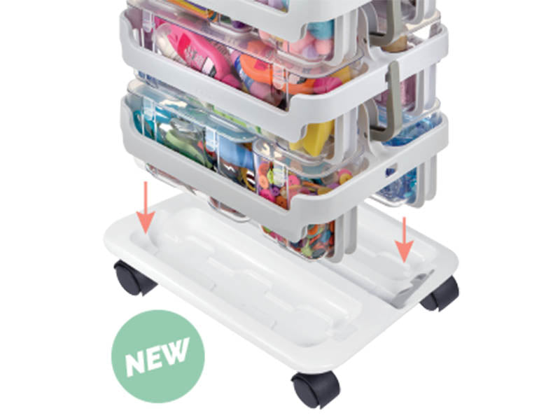 Stackable Caddy Trolley
