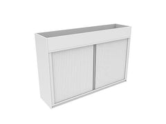 Tambour Planter Storage Unit