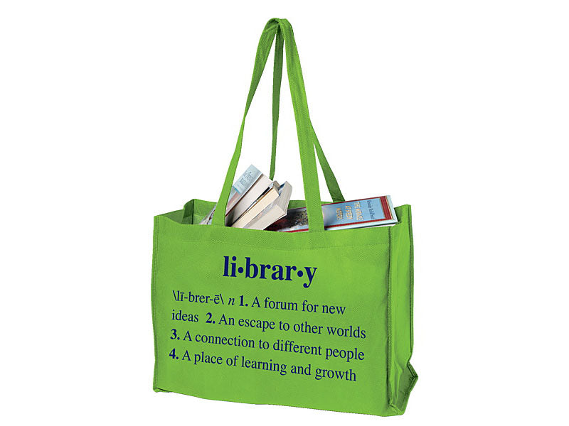 Library With Definition Browsing Bag