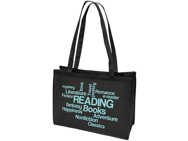 Reading Books Word Cloud Browsing Bag