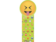 Die-cut Emoji Faces Bookmarks