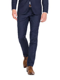 IP048 - Navy Flat Front Trousers