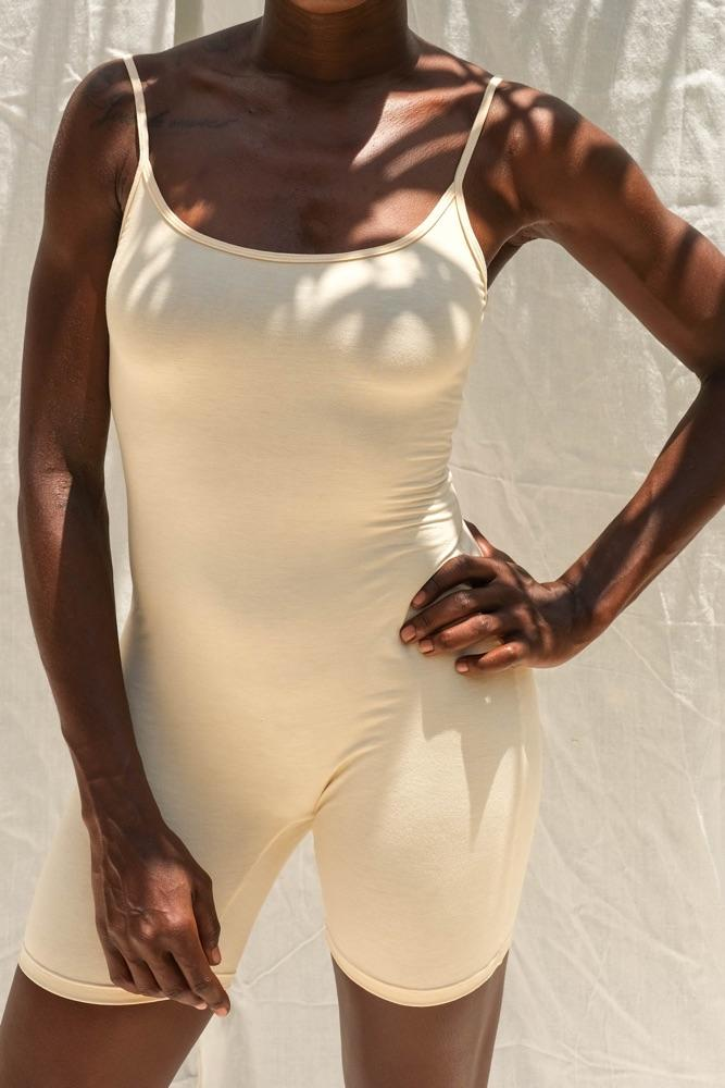 Aira Jumpsuit (Buttercream) - APPAREL THIS IS A LOVE SONG