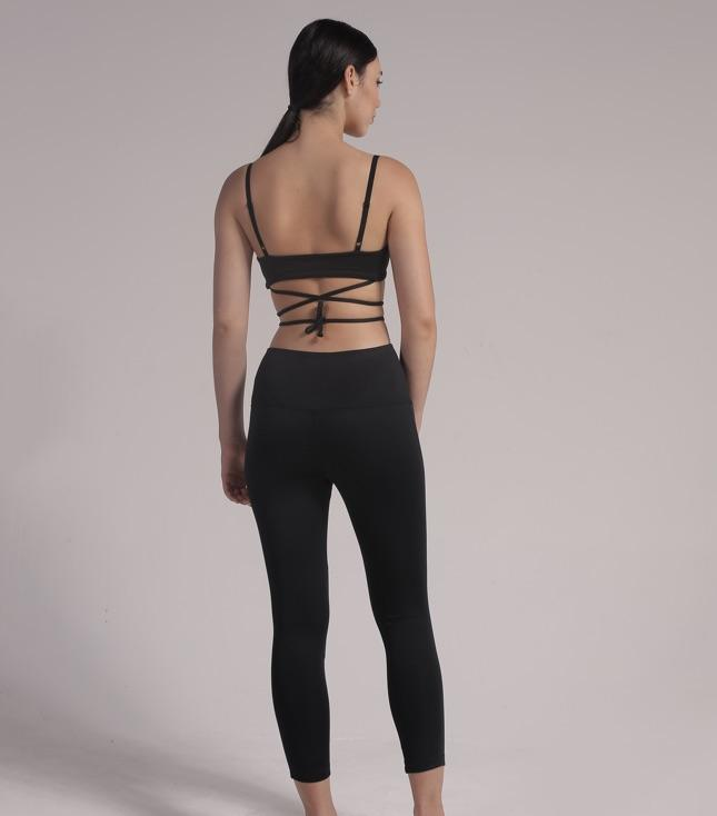 Ava Sports Bra (Black) - APPAREL THIS IS A LOVE SONG