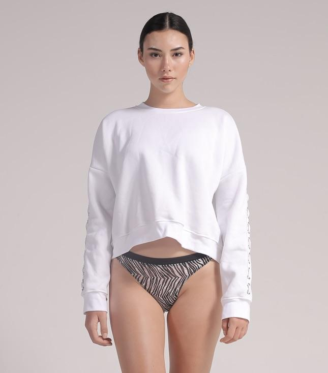 Ava Sweatshirt (White) - APPAREL THIS IS A LOVE SONG