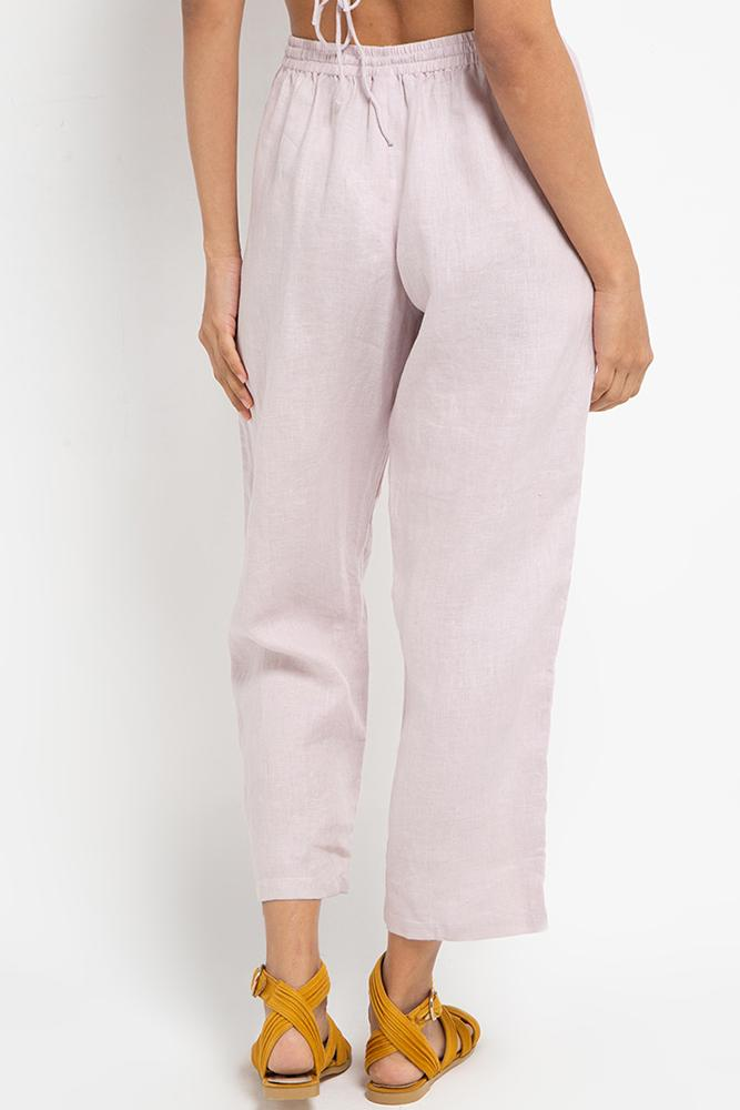 Cora Linen Pants (Lilac) - THIS IS A LOVE SONG