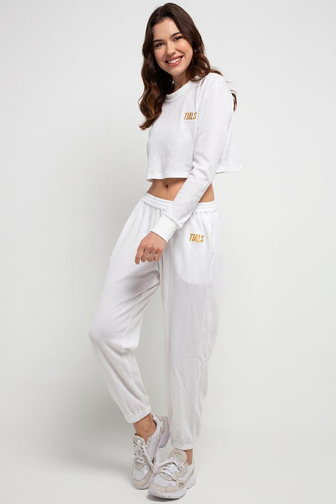 Harlow Pants White - APPAREL THIS IS A LOVE SONG
