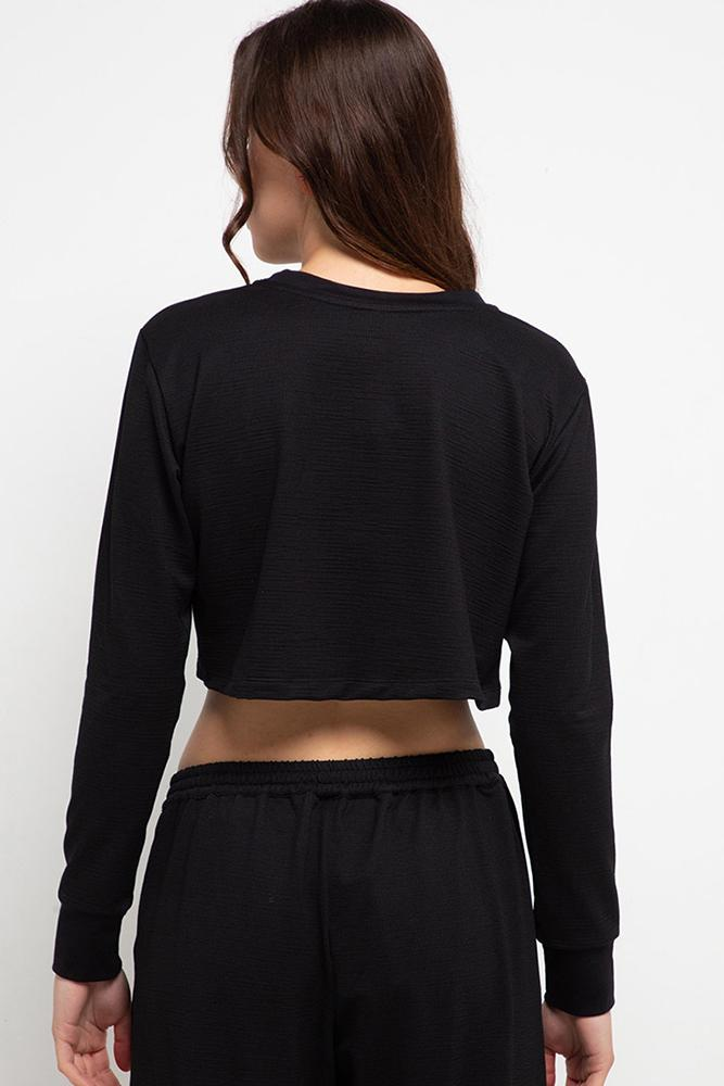 APPAREL - Harlow Top Black