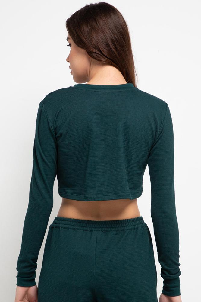 APPAREL - Harlow Top Green Hunter