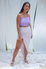 Sia Wrap Skirt (Lilac) - APPAREL THIS IS A LOVE SONG