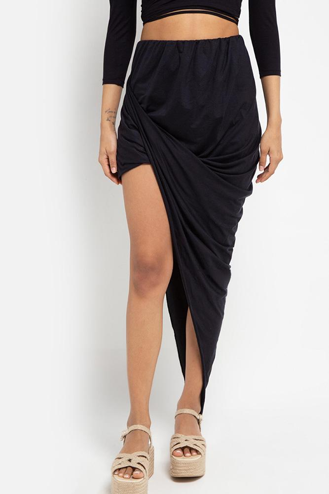 Sia Wrap Skirt (Midnight) - THIS IS A LOVE SONG