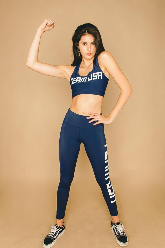 Team USA Set Leggings - APPAREL THIS IS A LOVE SONG