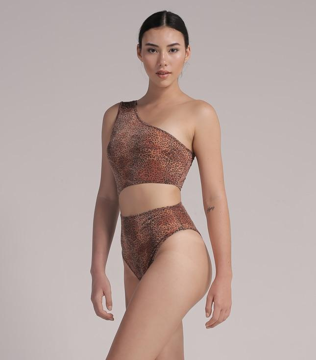Nora Bodysuit (Metallic Leopard) - BODYSUIT THIS IS A LOVE SONG