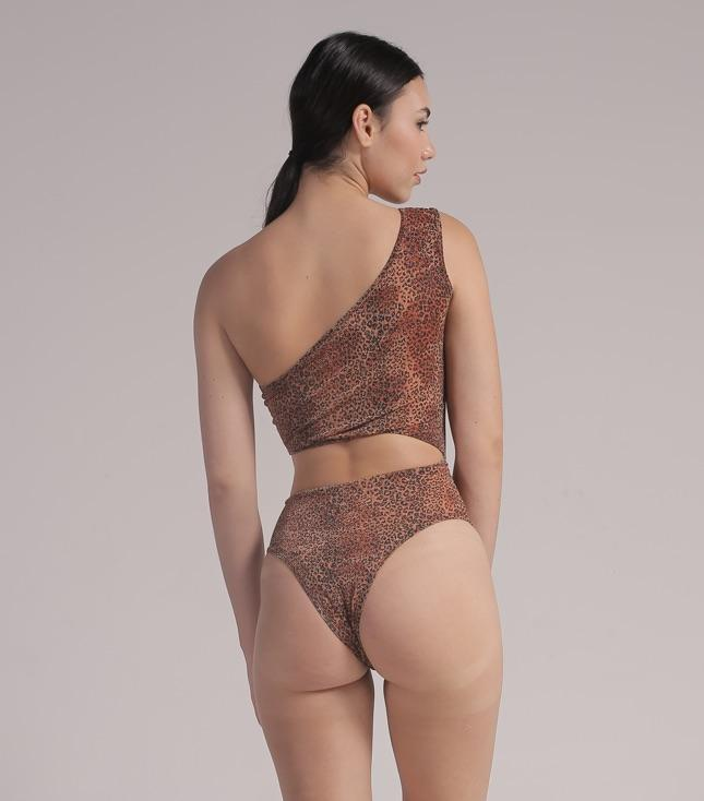 Nora Bodysuit (Metallic Leopard) - THIS IS A LOVE SONG