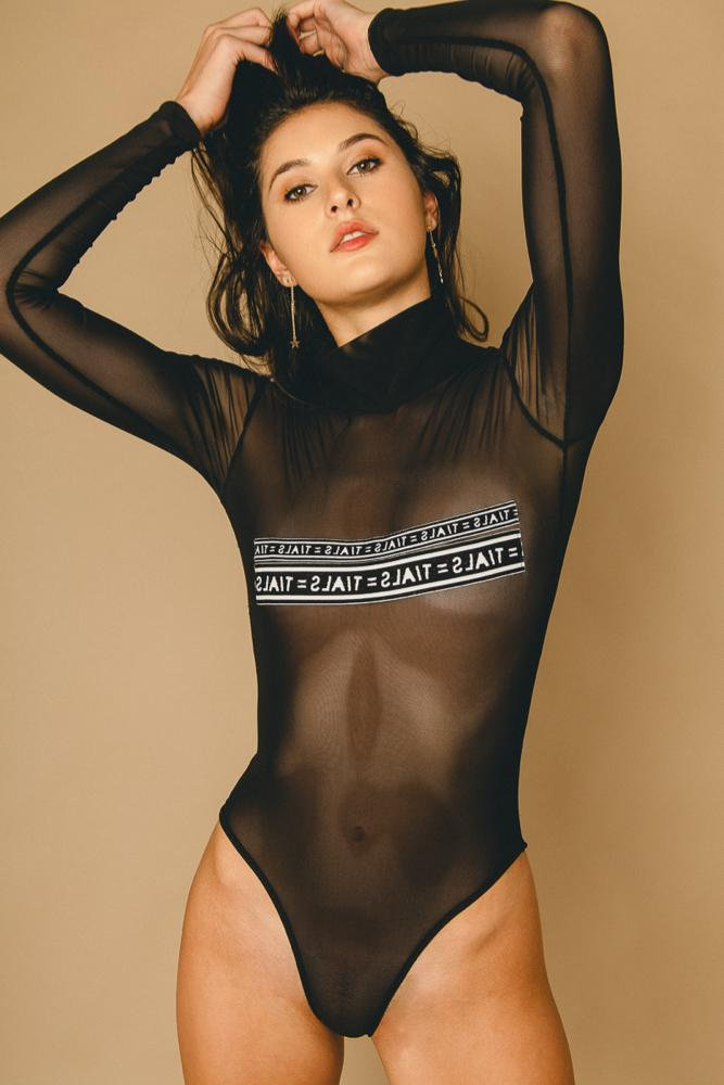 TIALS Logo Bodysuit - BODYSUIT THIS IS A LOVE SONG