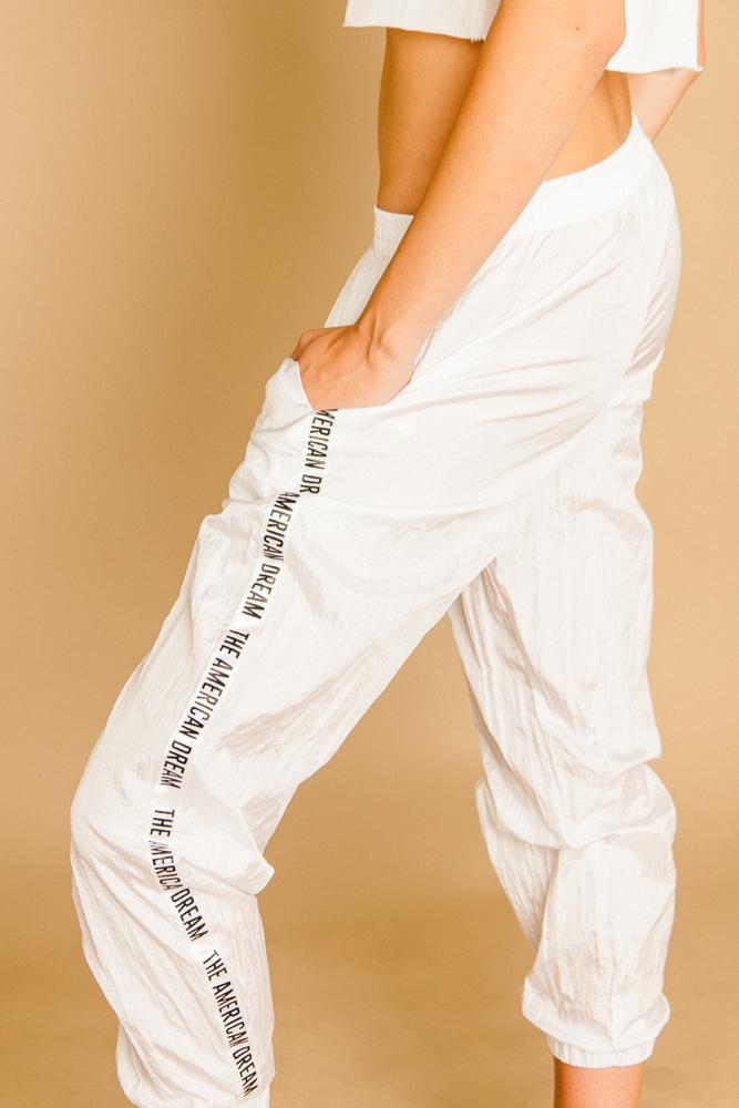 American Dream Track Pants - BOTTOMS THIS IS A LOVE SONG