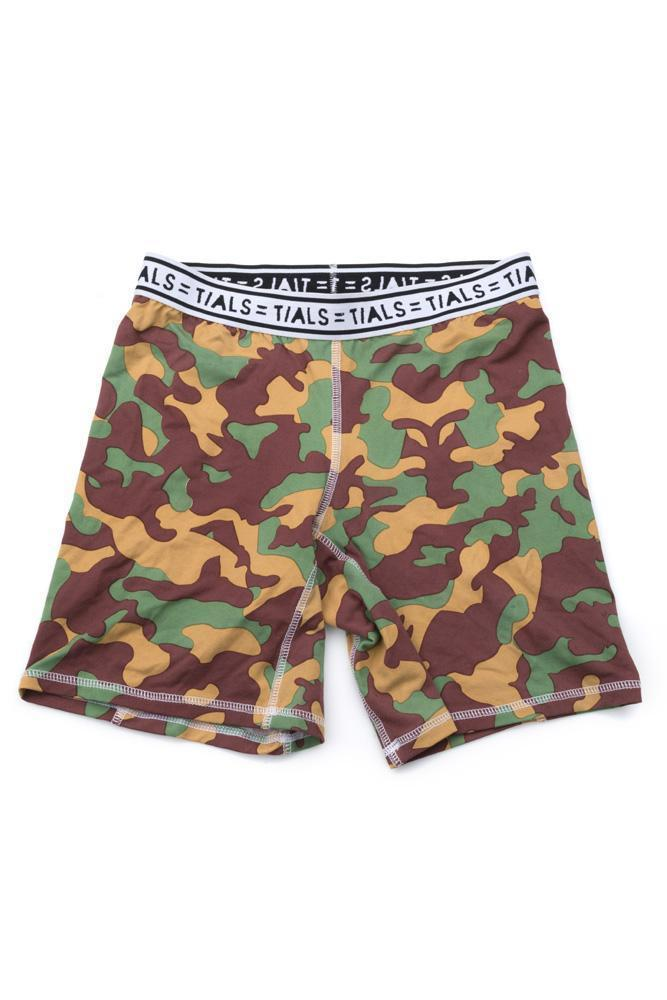 Camo Bike Shorts White Band - APPAREL THIS IS A LOVE SONG