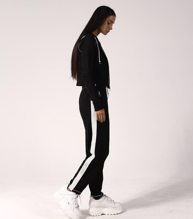 Rio Tracksuit Pants Black - THIS IS A LOVE SONG