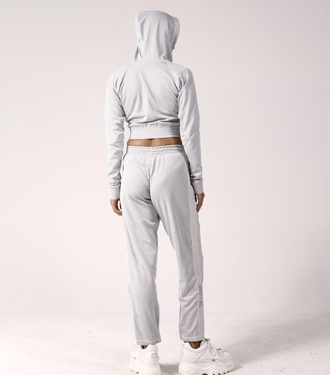 Rio Tracksuit Pants Grey - BOTTOMS THIS IS A LOVE SONG