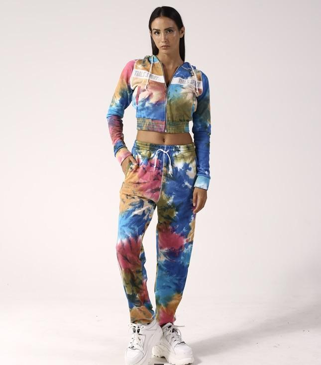 Rio Tracksuit Pants Tie Dye - BOTTOMS THIS IS A LOVE SONG