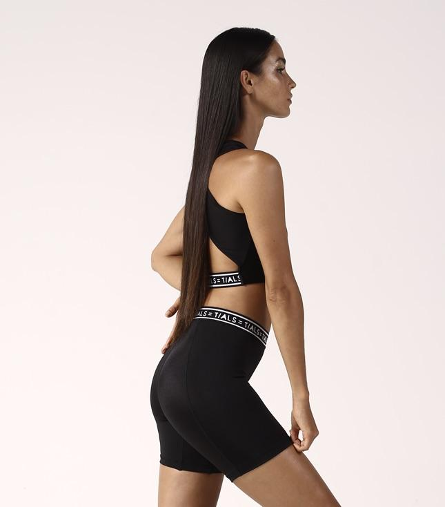 Zolia Bike Shorts Black - BOTTOMS THIS IS A LOVE SONG